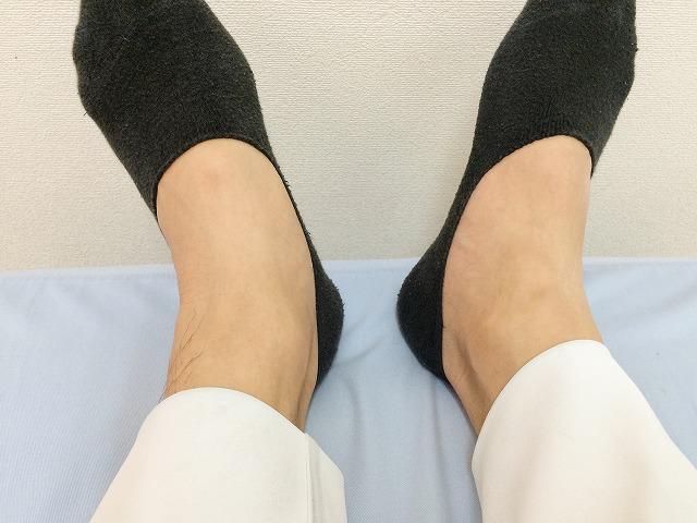 足の開きに差があると骨盤が歪んでいる